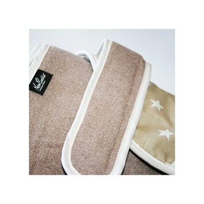 Bain cocoon, serviette tablier
