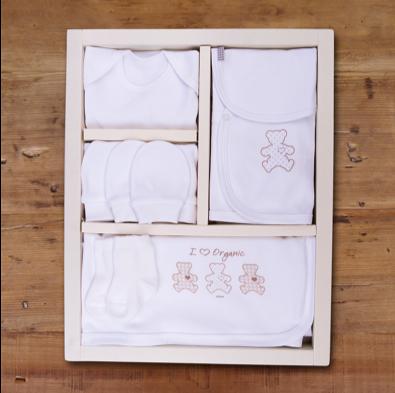 Coffret Naissance 10 pièces en coton biologique