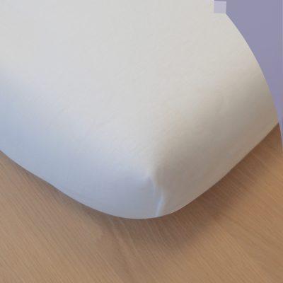 Drap housse COTON Blanc 72x33cm
