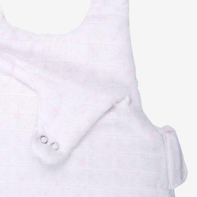 Gigoteuse Hiver en mousseline de coton bio à motifs étoiles 6 à 12 mois