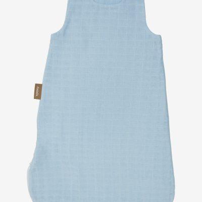 Gigoteuse Eté unie en mousseline de coton bio avec pochette assortie Prematuré