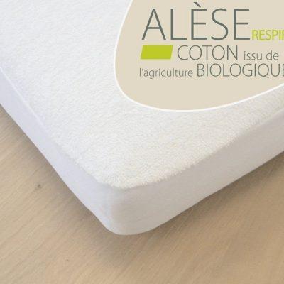 Alèse COTON BIO – Lit bébé et enfant