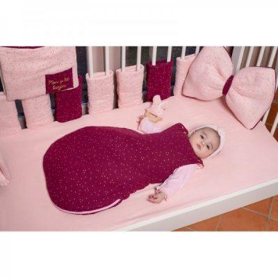 Tour de lit bâtons modulable