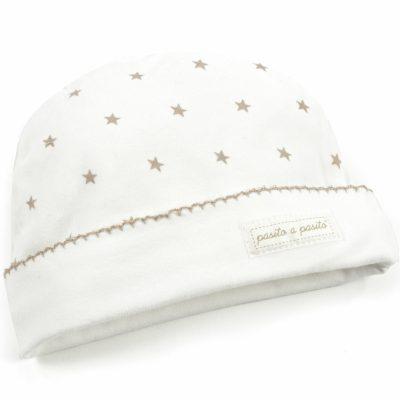 Bonnet de naissance Pasito a Pasito étoiles