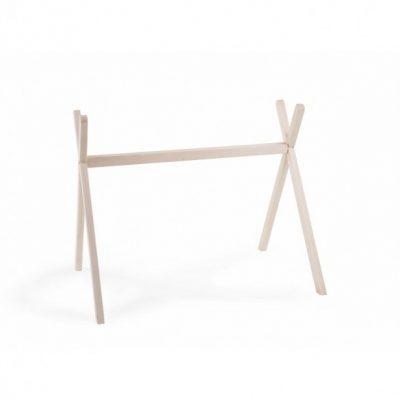 Arche d'éveil en bois naturel sans jouets Childhome