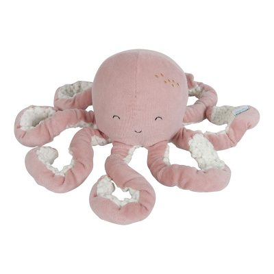 Peluche doudou pieuvre Little Dutch